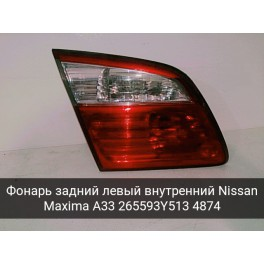 Фонарь задний левый внутренний Nissan Maxima A33 (Ниссан Максима А33) 4874