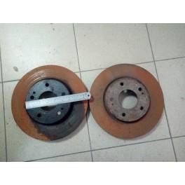 Тормозные диски передние на Mitsubishi Galant (Митсубиси Галант)