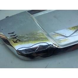 Хром нижний переднего бампера на Mercedes X166 GLS