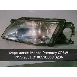 Фара передняя левая Mazda Premacy (Мазда Премаси) CP8W 1999-2001 C100510L0C 0286